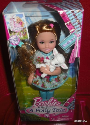 MATTEL-BARBIE-KELLY-MADISON-A-PONY-TALE-SERIES-LAMB-NRFB