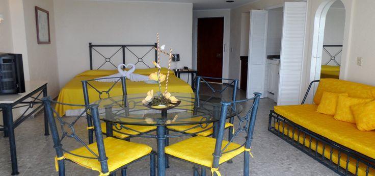habitaciones las torres gemelas acapulco 1