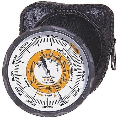 Sun Altimeter 202 by Sun. Save 17 Off!. $56.29. The Sun Altimeter 202 is perfect for use as a navigation aid or to guide you along contour lines. Includes weather trend indicator (shows if weather is improving or worsening).