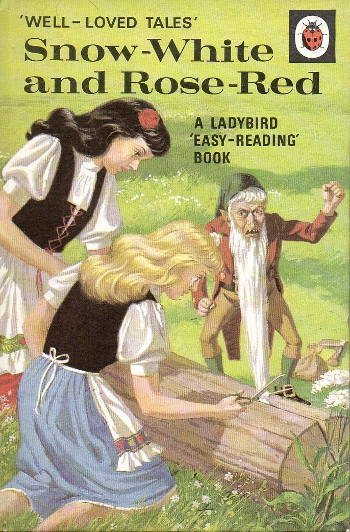 SNOW WHITE AND ROSE RED a Vintage Ladybird Book Well Loved Tales Series 606d Matt Hardback 1974