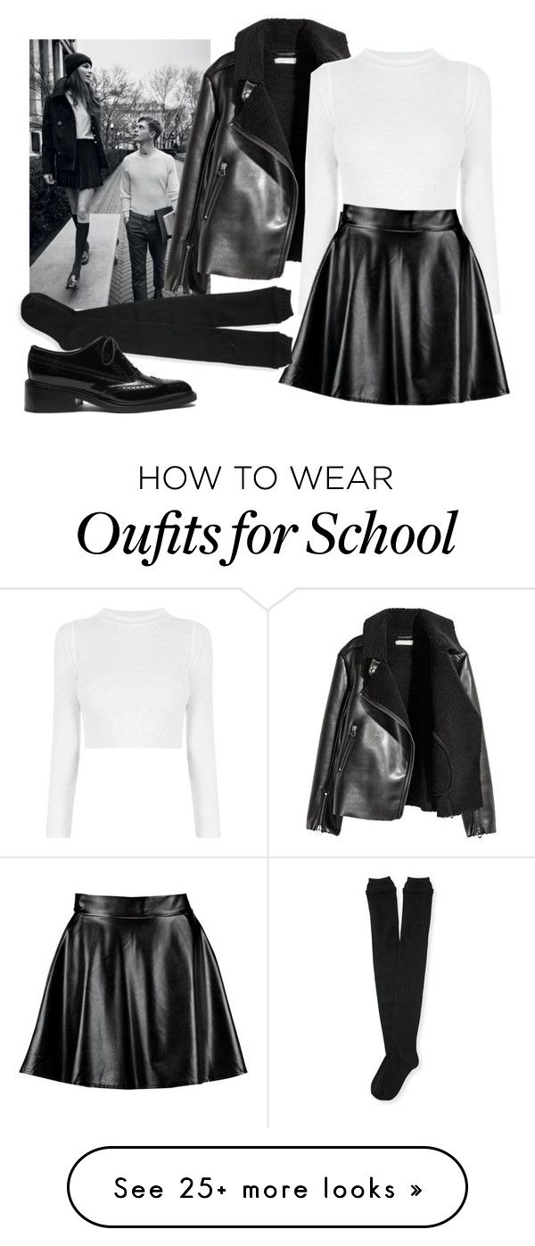 """""""old school"""" by stargazer200 on Polyvore featuring Boohoo, Aéropostale and Mulberry"""