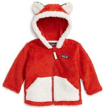Patagonia Furry Friends Fleece Hoodie (Baby Boys)