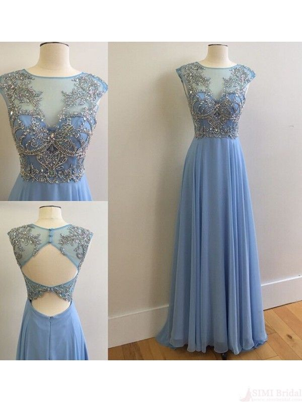 Charming Beading long Prom Dresses,Evening dresses#simibridal