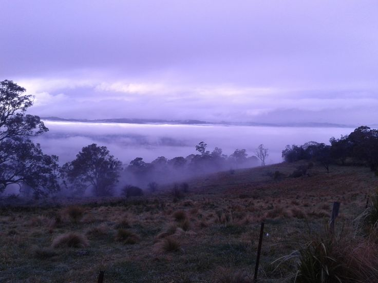 Bowral morning from Oxley Hill