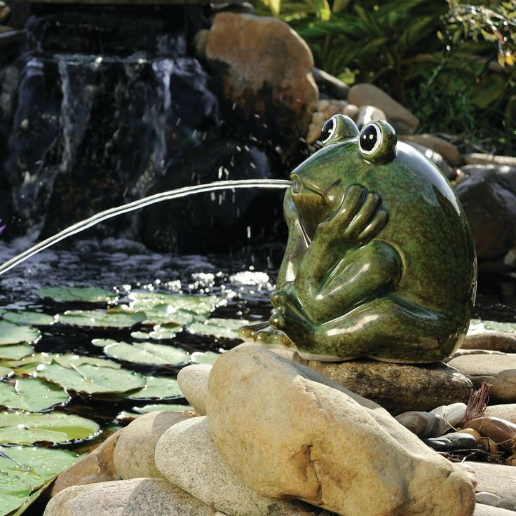 фонтан из керамики