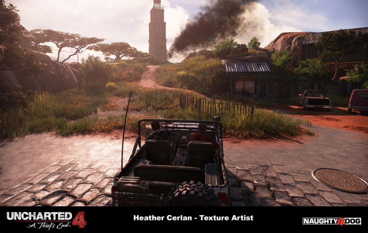ArtStation - Uncharted 4 - Madagascar City Chase, Heather Cerlan