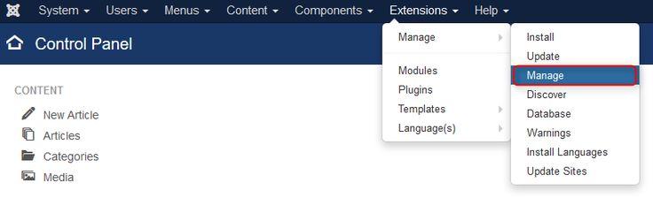 How to check Joomla extension version? #Joomla #extension #howtojoomla