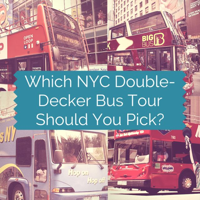 Curious about double decker bus tours in NYC? Here's an overview of your options as well as an assessment of the different choices in NYC.