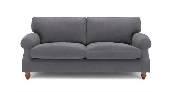 Lemaire 3 Seater Sofa Abbey Velvet Dfs Sofa Seater Sofa 3 Seater Sofa