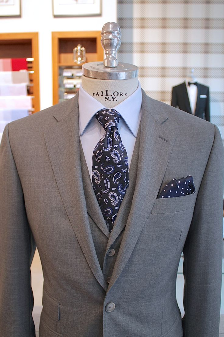I love the color combinations, not crazy about the paisley, but love the suit and the colors