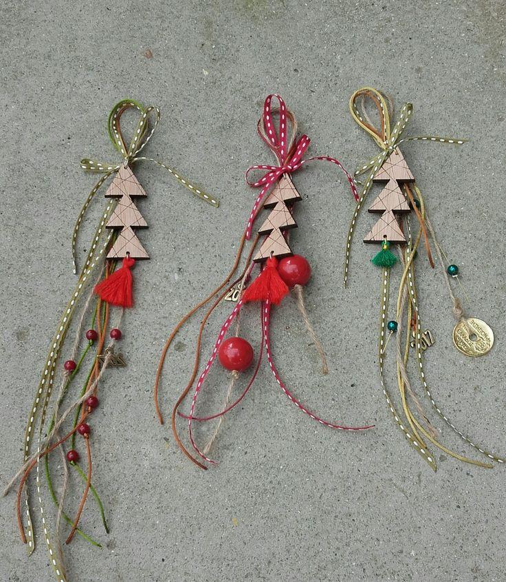 Lucky charms 2017/☆☆/christmas trees/winter/handmade