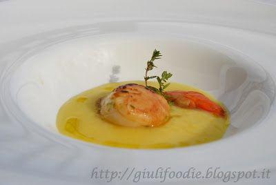 Giuli Foodie: Capesante con Salsa Leggera allo Zafferano