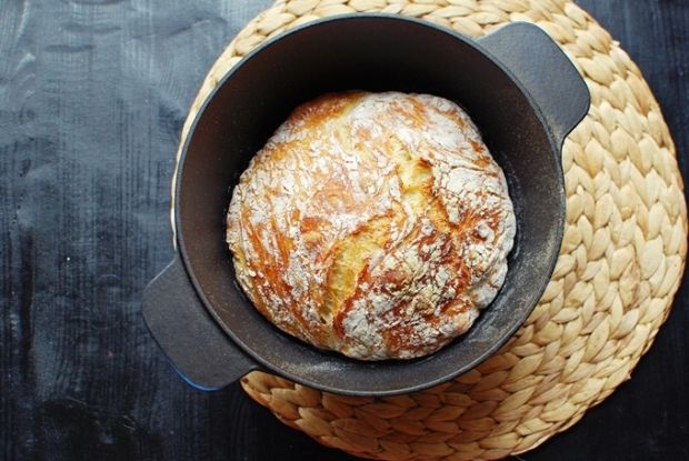 Chléb bez hnětení , Foto: Tereza Sychrová FOODLOVER.CZ