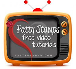 File Folder technique cards Video tutorial - Patty's Stamping Spot