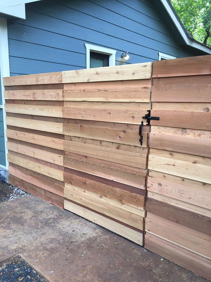 6 H Horizontal Board On Board Cedar Privacy Fence Check
