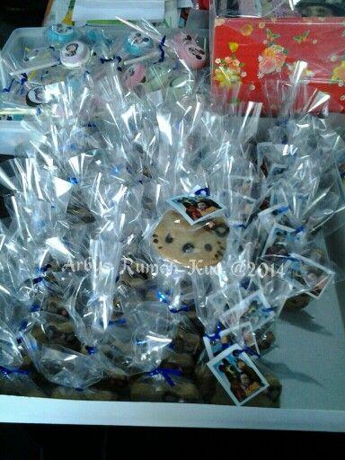 Hello Kitty chocolate cookies
