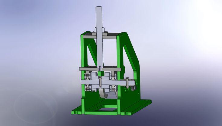Tube bender - STEP / IGES - 3D CAD model - GrabCAD