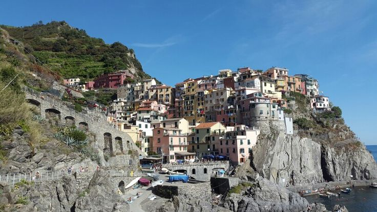 Italy  Manarola  Cinque Terre