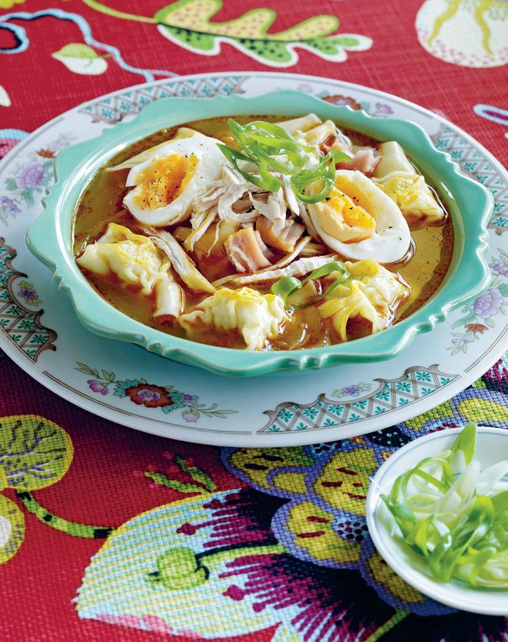 Dumpling soup by Yasmin Newman from 7000 Islands | Cooked