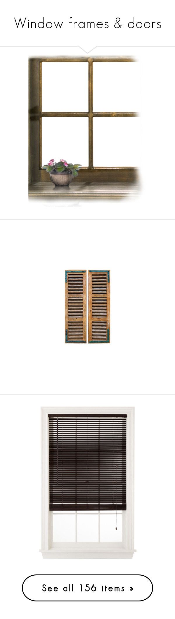 """""""Window frames & doors"""" by sally-simpson ❤ liked on Polyvore featuring window, borders, picture frame, home, home decor, windows, tubes, backgrounds, art and furniture"""