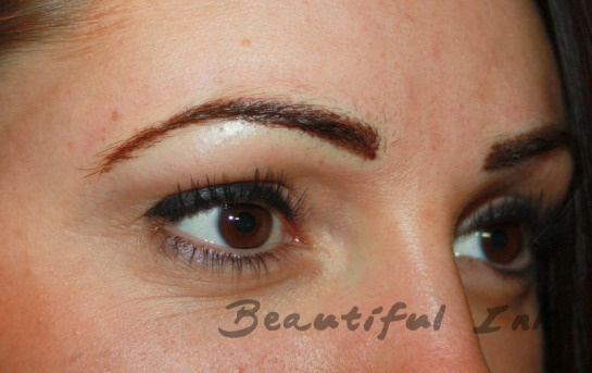 After eyebrow tattoo all about eyebrows pinterest for Painless permanent tattoos
