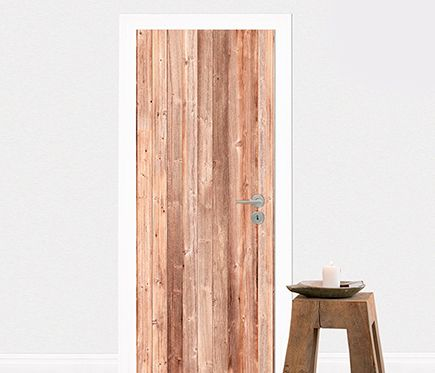vinilo para puerta madera