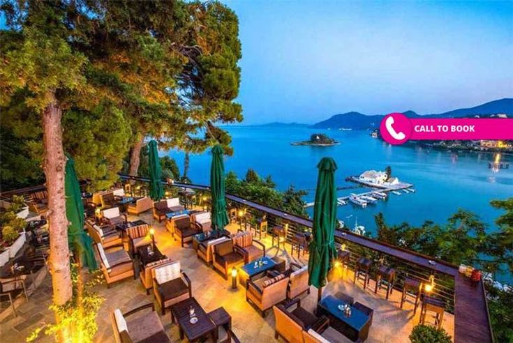 Discount 7nt 5* Half Board Luxury Corfu Beach Getaway & Flights for just £259.00 Where: Corfu.  What's Included: A seven-night, half board stay in a superior twin or lake view room with return flights.  Accommodation: Stay at the 5* Corfu Holiday Palace Hotel.  Facilities: Unwind in the hotel's gorgeous pool or spa and well-being centre, or use the tennis court, bowling rooms or ping pong...
