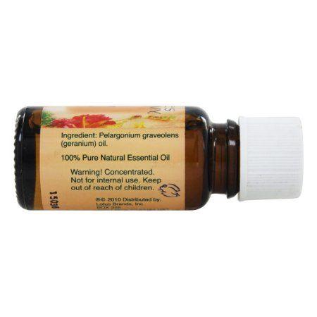 Nature's Alchemy 100% Pure Essential Oil, Geranium, 0.5 Oz, Multicolor