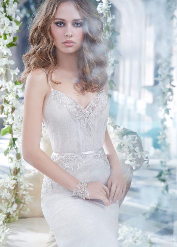 Bridal Gowns, Wedding Dresses by Alvina Valenta - Style AV9409