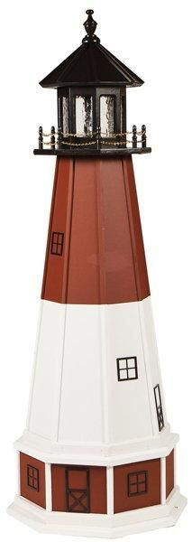 Amish Made Barnegat, NJ Wooden Garden Lighthouse