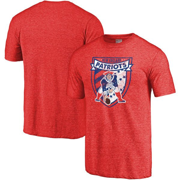 New England Patriots NFL Pro Line Hometown Collection Tri-Blend T-Shirt - Red - $34.99