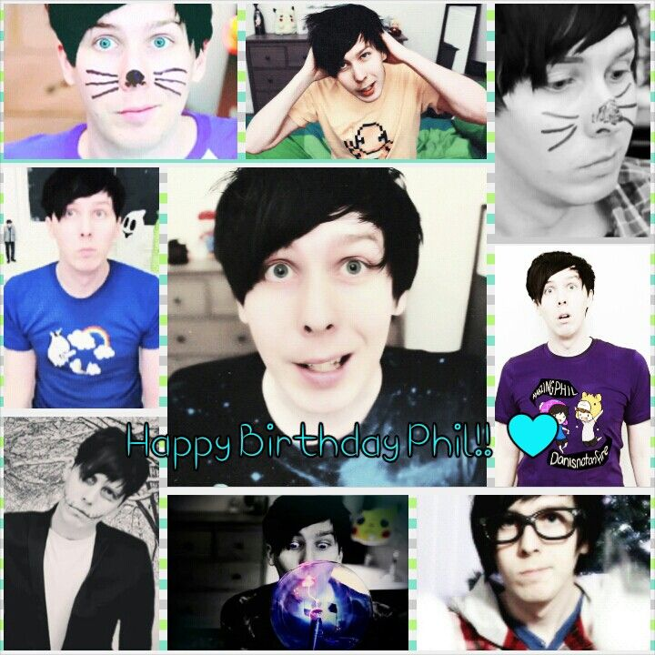 Happy Birthday Phil!!! You gorgeously amazing human being <3 <3 <3 I love you!!