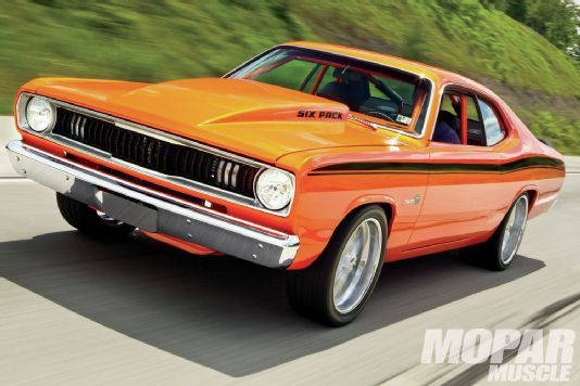 1970 Plymouth Duster - Realized Potential - Mopar Muscle Magazine............... My Dad still has his 1971 Duster today fully restored and looks almost like this.