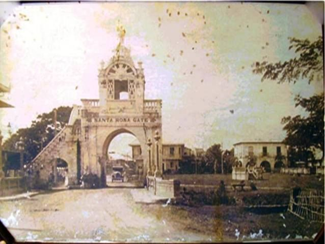 Old Sta. Rosa Arch.  by Allyson Sarangaya Pareja (1900)