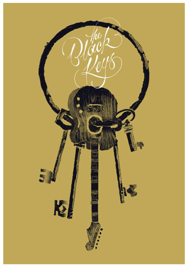 The Black Keys - Benny Hennessy (via The Black Keys on Behance)