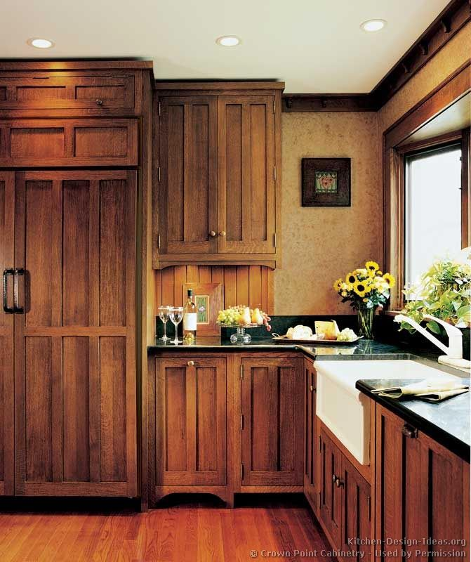 Kitchen Design Brown: 175 Best Craftsman Style Kitchens Images On Pinterest