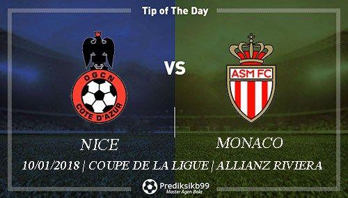 Prediksi Nice vs Monaco, Prediksi Nice vs Monaco 10 Januari 2018, Prediksi Bola Nice vs Monaco, Prediksi Skor Nice vs Monaco, Pasaran Bola Nice vs Monaco