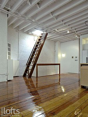 Ships ladder to loft space stairs pinterest loft Garage loft stairs