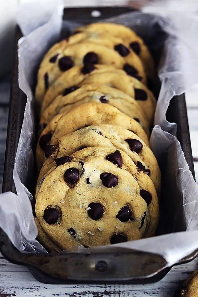 Cookies moelleux aux pépites de chocolat, cœur fondant au Caramel2