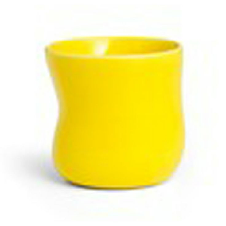 Mano Cup Yellow Large, Kähler - $27