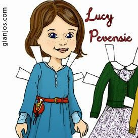"Doll and clothes are inspired by the 2005 Narnia movie ""The Witch and the Wardrobe"".  Lucy (played by Georgie Henley) is only 8 years old..."