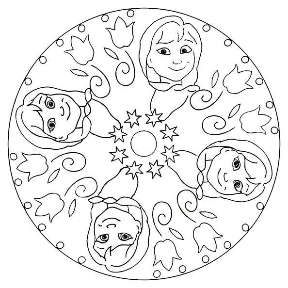 Mandalas Zum Ausdrucken Disney 9 Disney Kids Rugs