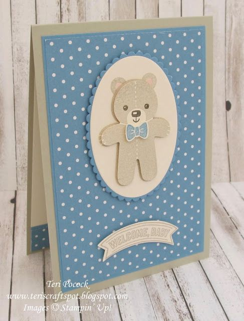 Cookie Cutter Christmas - Welcome Baby Cards