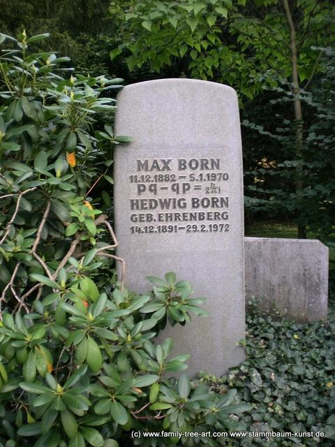 Max Born by Alix Mordant, via Flickr