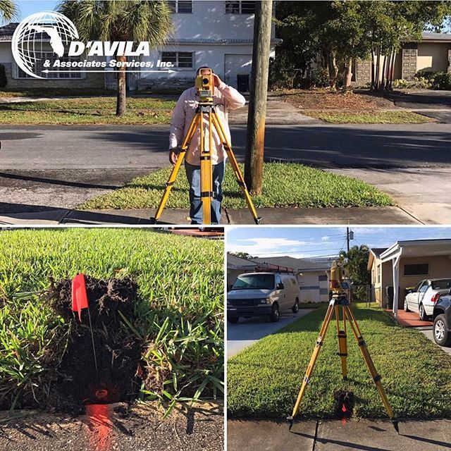 Land surveying  Do you want the know your boundary lines property points? . #davilaland #landsurveyor #homeinspection #engineer #construction #mortgage #realestate #Remodel #Builders #workers #insurance #elevation #certificate #miamidade #palmbeach #broward