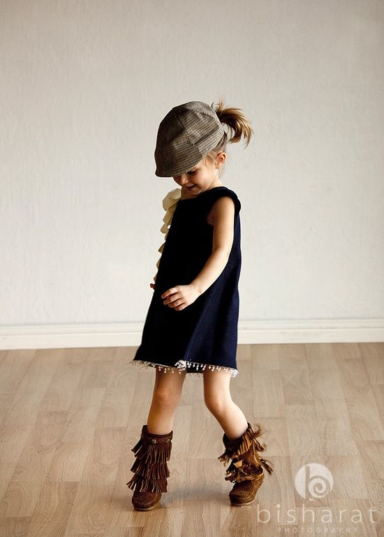yes, my daughter will be rocking moccasin boots and newsboy caps.