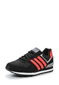 Кроссовки adidas Neo, цвет: черный. Артикул: AD003AMFTX24. Мужская обувь / Кроссовки и кеды / Кроссовки
