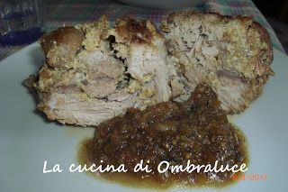 """La cucina di Ombraluce: """"Pulled pork"""" alla birra scura con senape e cipoll..."""