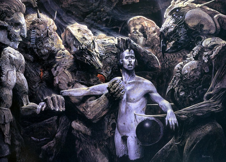 The Examination by Wayne Barlowe