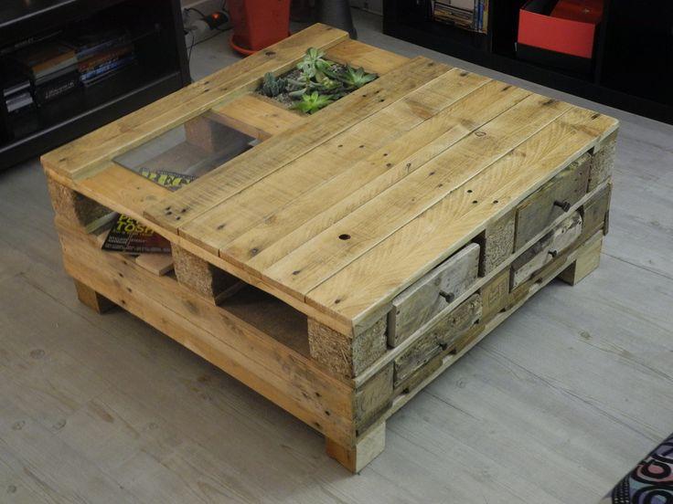 version t avec plante vs version hiver avec jeu d 39 checs palettes addict en vrac pinterest. Black Bedroom Furniture Sets. Home Design Ideas